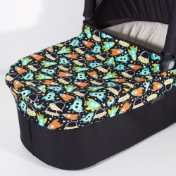 Cubrepies para capazo Uppababy - space station