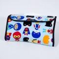 Bolsa pañales con tela de superheroes