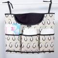 Bolsa para guardar pañales horizontal - pinguinos