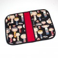 Baby documents pouch - kokeshi