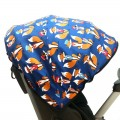 Canopy cover for Stokke Xplory - blue fox