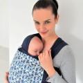 Stretchy Baby wrap Mosaic Mirror