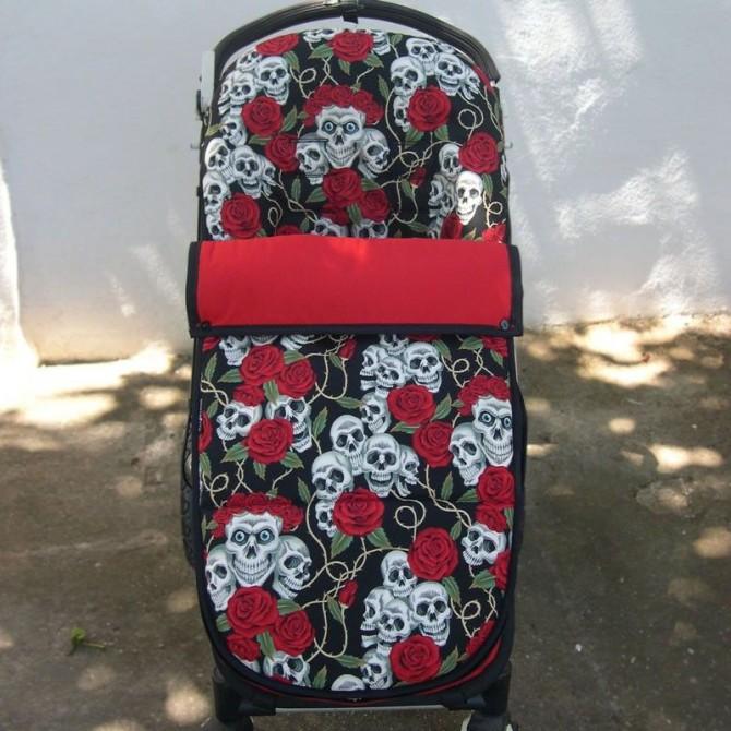 Bugaboo stroller summer footmuff custom