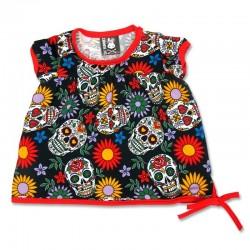 Vestido bebé - sugar skulls