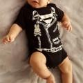Body para bebe chaqueta rockera