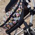 Saco de silla invierno universal - mini calaveras negro