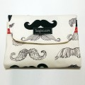 Baby changing mat - moustache
