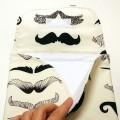 Cambiador bebe de tela bigotes