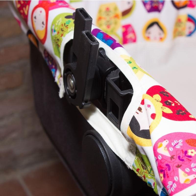 Funda capazo bugaboo estampado matrioskas multicolor - Fundas bugaboo originales ...