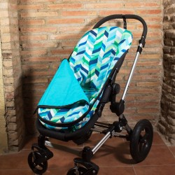 Summer footmuff for Mountain Buggy - choose the fabric