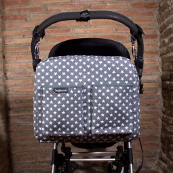 Bolso carro bebé - superestrellas