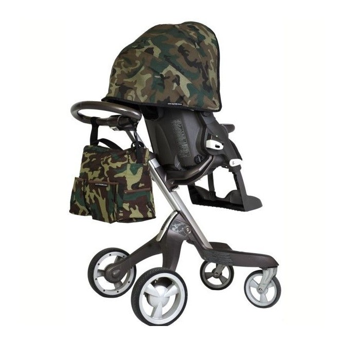 Camouflage canopy for Stokke stroller  sc 1 st  Teoyleo & Custom your stokke xplory canopy with our comouflage cover Handmade