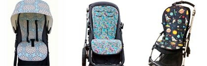 Padded seat liner for Bugaboo Cameleon