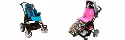 Footmuffs for stroller disabled for children