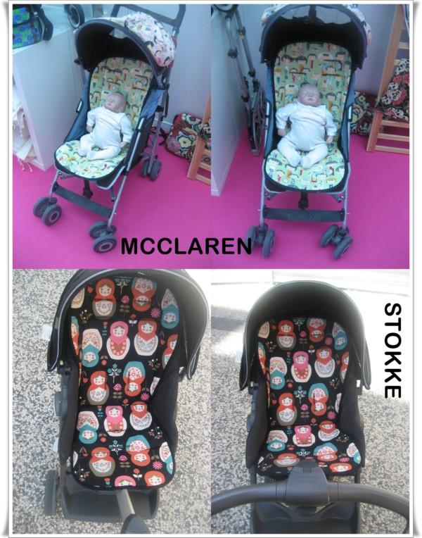 Colchonetas para la silla de paseo teoyleo - Colchonetas para sillas de paseo originales ...