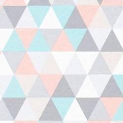 Tela 649 topos multicolores
