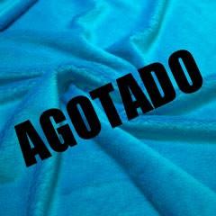 Pelo azul turquesa