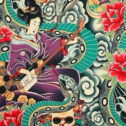 Tela 078 Zen Geisha