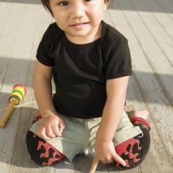 Baby lorcitas, Baby legs blanco y negro.