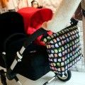 Twins diaper bag black owls