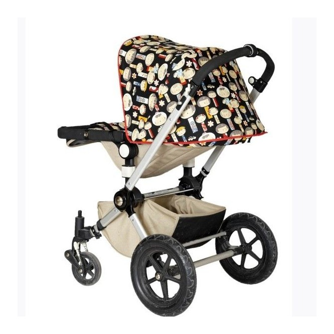 Hedendaags Custom your canopy Bugaboo Frog, chose your favorite cotton fabric VN-66