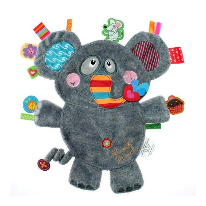 El elefante, label label