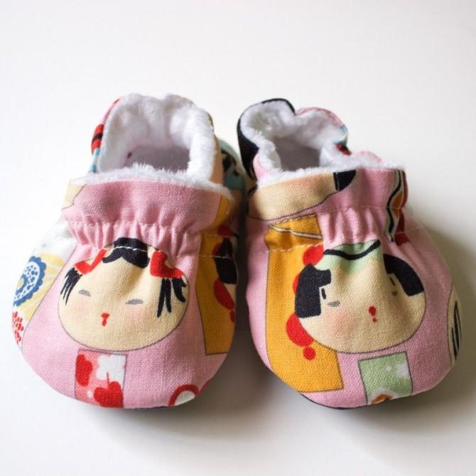Patucos bebe muñecas