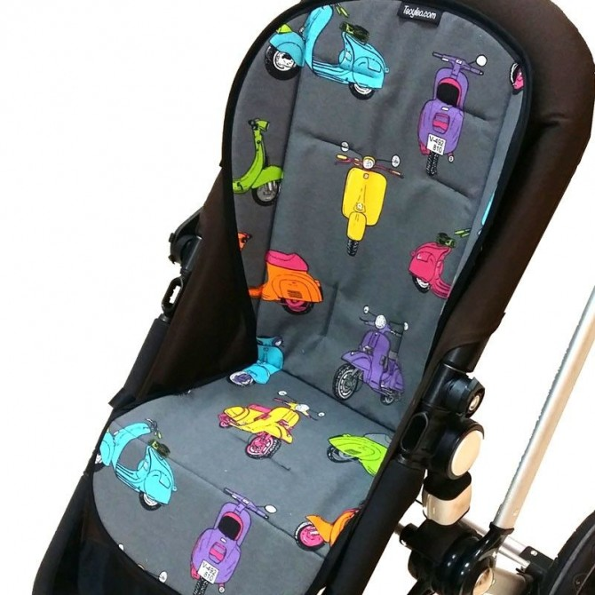 Colchonetas para sillas de paseo vespas