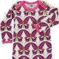 Pelele bebé lana mariposas