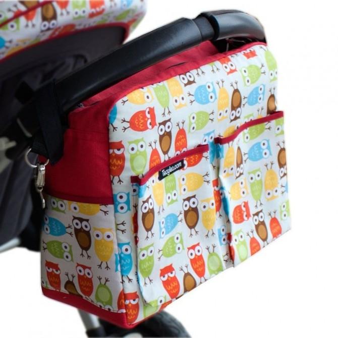 Bolso para carrito de bebé Buhos