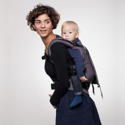 Soft baby carrier Grey by Liliputi