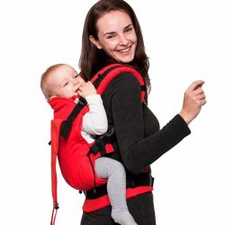 Soft baby carrier Red