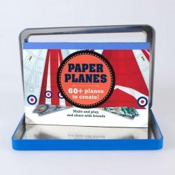 Juguete para niños Lata Aviones de Papel