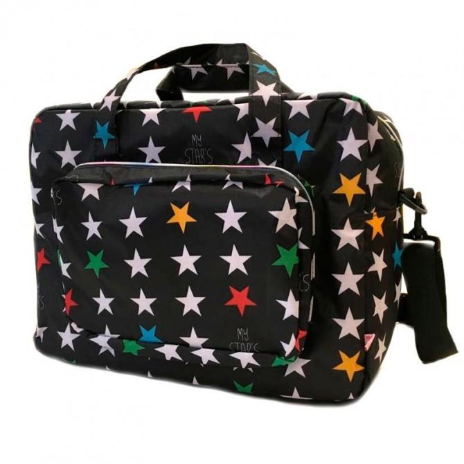 Bolso Maternidad Estrellas Mybags