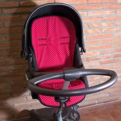 Colchoneta Stokke Topos Rojo