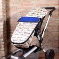 Summer stroller footmuff Aircraft