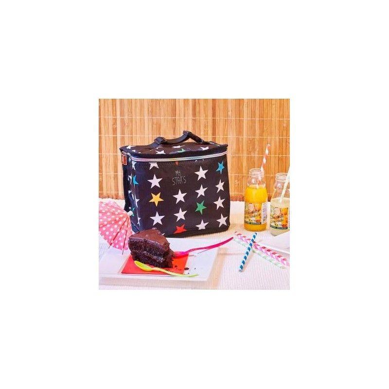 Nevera Infantil Portatil My Bags Estrellas Negro Incluye