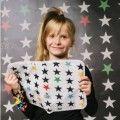 Portadocumentos Estrellas en blanco de Mybags