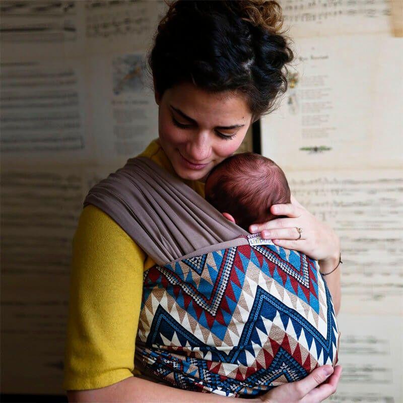 039c88e7bb16 Écharpe de portage Navaho ,confortable pour bébé et mamman