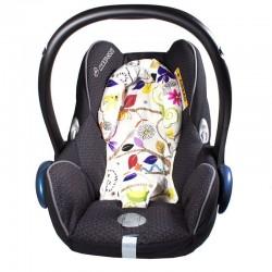 Reductor silla auto bebé - animalitos