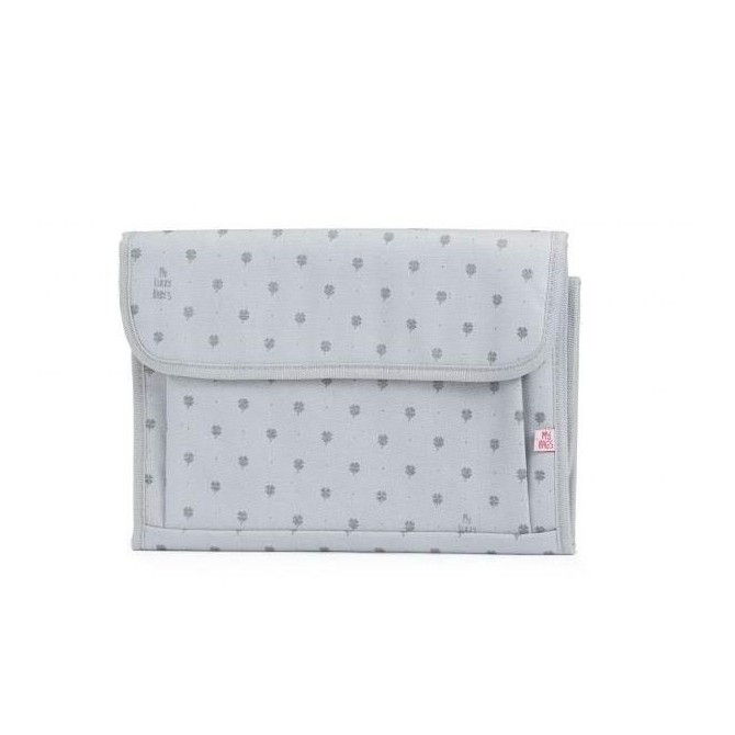 Portable baby changing mat My Lucky Baby´s Silver-Mybags