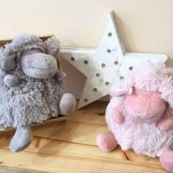 Peluche Ovejitas de Mybags gris y rosa