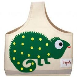 Bolsa para pañales camaleón