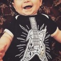 Body bebe guitarra rock