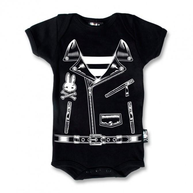 Body bebe chaqueta rockera