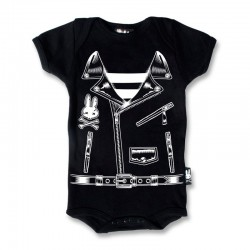 Body bebe chaqueta rockera