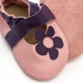 Sandales en cuir Marguerite pour bébé