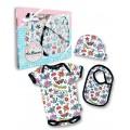Cute flash baby gift set