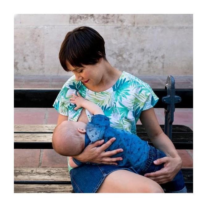Top lactancia Pecari tropical bebé