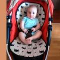 Colchoneta para silla de bebe estampado Batman